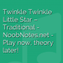 Twinkle Twinkle Little Star - Traditional