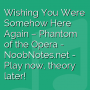 Wishing You Were Somehow Here Again - Phantom of the Opera