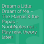 Dream a Little Dream of Me - The Mamas & The Papas