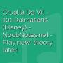Cruella De Vil - 101 Dalmatians (Disney)