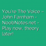 You're The Voice - John Farnham