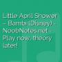 Little April Shower - Bambi (Disney)