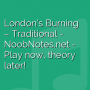 London's Burning - Traditional