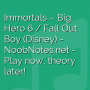 Immortals - Big Hero 6 / Fall Out Boy (Disney)