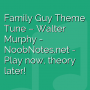 Family Guy Theme Tune - Walter Murphy