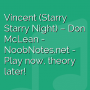 Vincent (Starry Starry Night) - Don McLean