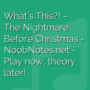 What's This?! - The Nightmare Before Christmas