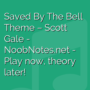 Saved By The Bell Theme - Scott Gale