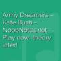 Army Dreamers - Kate Bush