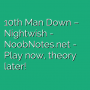 10th Man Down - Nightwish